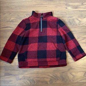 Quarter zip pullover. Old Navy 2T toddler boy.